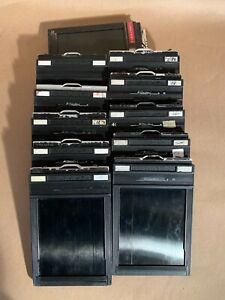 Used Riteway 4x5 film holders