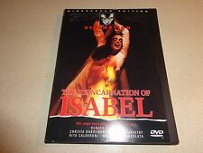 The Reincarnation of Isabel DVD, Stefania Fassio, Cristina Perrier LIKE NEW
