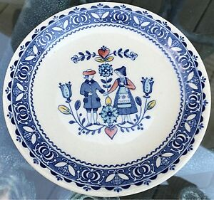 Johnson Brothers-Old Granite,Hearts and Flowers China Pieces-Desert Plates
