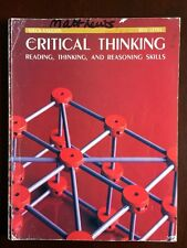CRITICAL THINKING Reading and Reasoning Skills Red Level Steck Vaughn Workbook