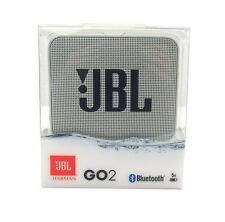 JBL GO 2 Portable Bluetooth Waterproof Speaker (Grey) *GO2GRY