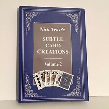 Nick Trost's Subtle Card Creations, Magic Trick Book, Volume 2