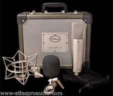 Peluso P-87 Solid State Microphone System Mic, Case, Shockmount w/Warranty - NEW