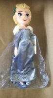 DISNEYSTORE AUTHENTIC - OLAFS FROZEN ADVENTURE - ELSA PLUSH DOLL - BNWT 19""