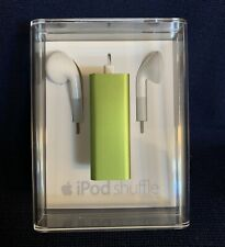 NEW Apple iPod shuffle 3rd Generation GREEN (2 GB) Factory Sealed