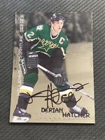 1999-00 BE A PLAYER BAP MILLENNIUM DERIAN HATCHER SIGNATURE SERIES AUTO #77