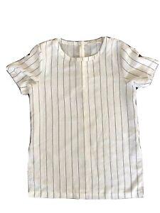 Lulu + Rose Pin Stripe Top Size XXS