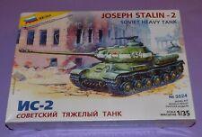 * STILL FACTORY SEALED * ZVEZDA * JOSEPH STALIN - 2 SOVIET HEAVY TANK *
