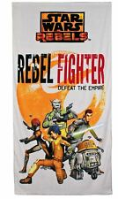 Star Wars Rebels Beach Bath Towel Rebel Fighter Defeat The Empire
