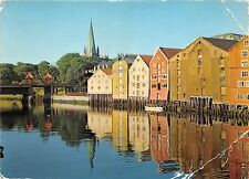 BR4601 The Pld Ware houses the old city bridge and the cathedral norway