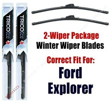 2002-2003 Ford Explorer (Sport ONLY) WINTER Wipers 2-Pk Super-Premium 35180x2