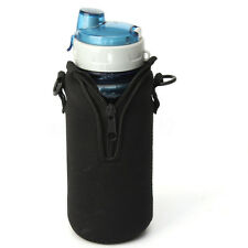 750ML Water Bottle Carrier Insulated Cover Bag Pouch Holder Strap Outdoor Sports