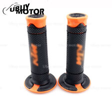 "7/8"" 22mm Motor Rubber Hand Grips Handle Gel For KTM Duke 125 200 390 690 990"
