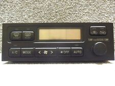 1996 2001 Toyota Chaser Grande mark2 JZX100 AC Heater Climate Control JDM OEM