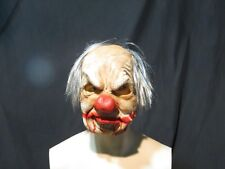 Supersoft Smiley The Clown Mask  Zagone Studios.UK Stock,Video Clip.