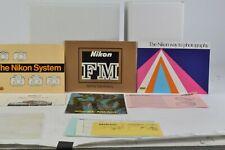 Nikon FM Camera Instruction Manual Bundle English LNC (236)