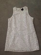 Laundry White  Tunic Top W/ lacing  by Shelli Segal