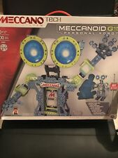 Meccano MeccaNoid G15 personal robot never opened sealed 100% Authentic 