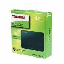 HARD DISK ESTERNO 2,5 USB 3.0 4TB 4000GB TOSHIBA CANVIO BASICS 2019 NEW GARANZIA