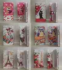 PER HUAWEI Y5 / Y560 / Y560-L01 CUSTODIA COVER FLIP LIBRO STAND GEL STRASS TPU