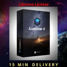 Luminar v4 Photo Editor 2020 Full Version LifeTime for Windows ✅ 15 Min delivery