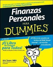 Finanzas Personales Para Dummies (Spanish Edition) by Tyson, Eric