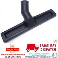 UNIVERSAL 38mm BLACK SLIM FLOOR TOOL NOZZLE WITH RUBBER INSERTS 300mm WIDE