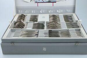 Menuebesteck für 11 Personen 75tlg mit OVP WMF 90iger Silber Brüssel 5500