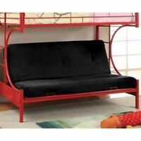 Furniture of America Capelli Futon Mattress in Black