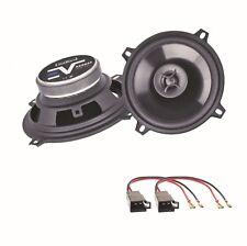 Axton AE502F 2 Wege Lautsprecher Boxen System Einbauset für Golf 1 Cabrio vorne