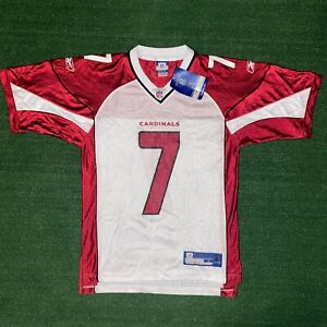 NWT REEBOK NFL On Field Arizona Cardinals Matt Leinart #7 Football Jersey Size S