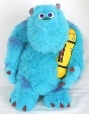 "Disney Pixar 14"" Monsters Inc Glowing Talking Sully plush BEDTIME BUDDY Hasbro"