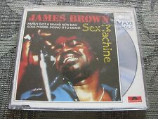 James Brown:   Sex Machine   1988 Rare CD Single