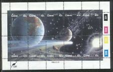 Ciskei 1986 Space Astronomy Halleys Comet Solar System Earth & Moon Ms