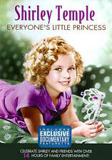 4 DVD Shirley Temple Everyone's Little Princess 14 hours New never open