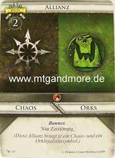 Warhammer Invasion - 1x Allianz Chaos / Orks  #125