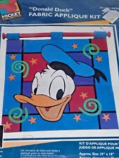 Mickey Unlimited Donald Duck Fabric Applique Kit