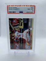 2018 Topps Jack Flaherty #93 Rookie RC - NM-Mint PSA 8