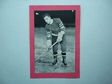 1934/43 BEEHIVE CORN SYRUP GROUP 1 HOCKEY PHOTO JOE COOPER BEE HIVE NICE!!
