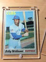 1970 Topps Set Break #170 Billy Williams Baseball Card Vintage