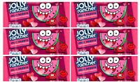 6 Bags Hershey Jolly Rancher Jelly Bean Hearts Chewy Candy. 11ounces, 06/2020