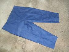 Pantalon de Travail bleu (moleskine ?) France 100% coton Grande taille 58 NEUF