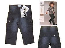 Garçons Bébé Petit Enfant Pantalon d'hiver thermal Jeans Babyjeans Gr. 74 gris