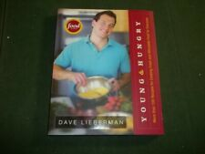 Dave Lieberman Young & Hungry First Edition Signed Food Network Book Paperback