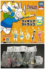 TOMY Adventure Time Figure Strap Part 3 complete set x5 Marshall Lee Fionna Cake