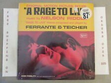 A RAGE TO LIVE ORIGINAL SOUNTRACK LP IN SHRINK NELSON RIDDLE UAL 4130