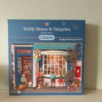 Gibsons 1000 Piece Jigsaw Puzzle Teddy Bears And Tricycles Steve Read (Unchecked
