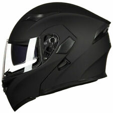 Motorcycle Dual Visor Flip up Modular Full Face Helmet DOT Approved M L XL XXL S