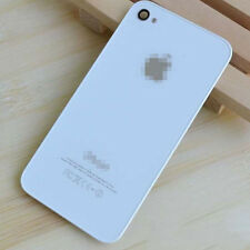 White Genuine Glass Battery Back Cover Door Replacement For iPhone 4 4G A1332