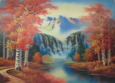 Poster Print 3d picture of the Fall waterfalls, great for Home Decoration L066